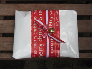 Christmas Decoration Swap package ready to go