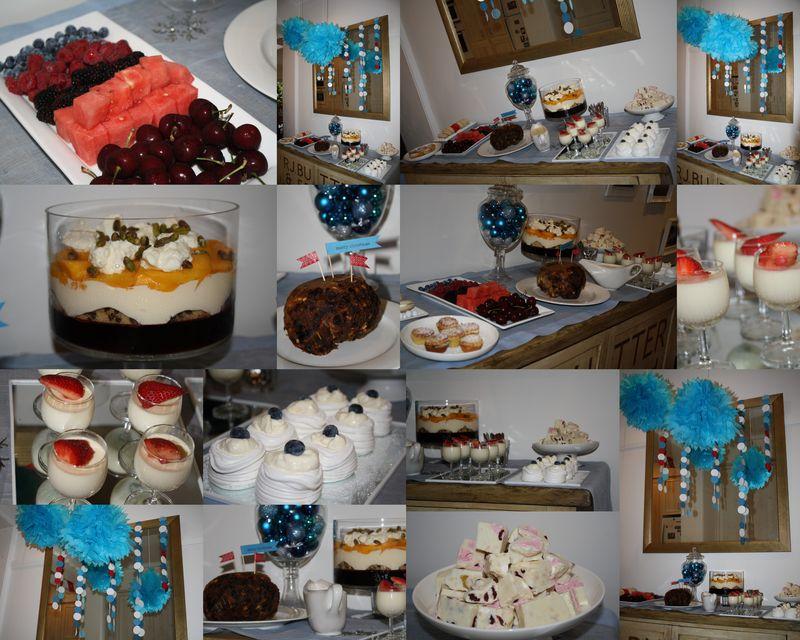 Christmas Dessert Buffet