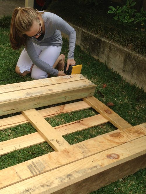 Herb garden - crate