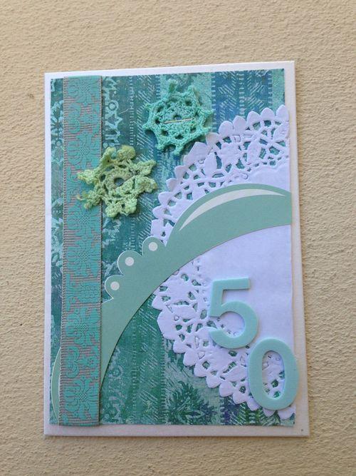 Card 50th