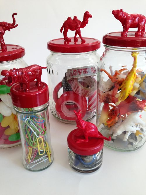 Fun jars - red collection