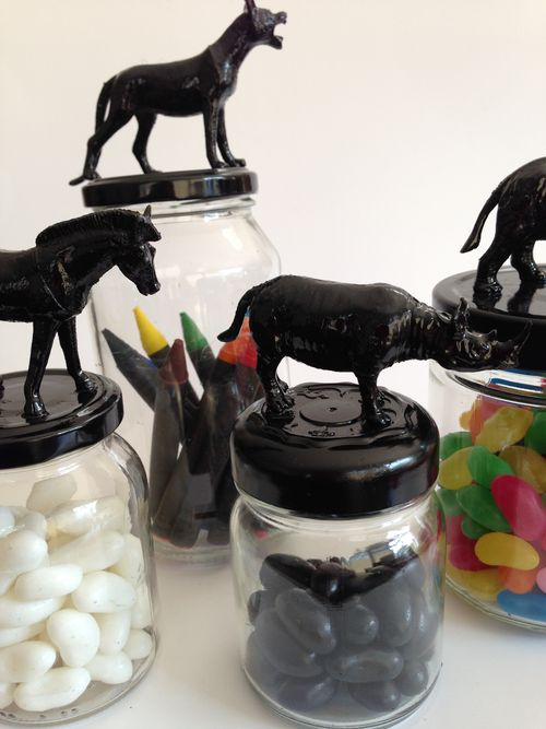 Fun jars - black collection