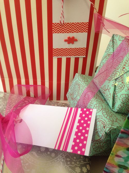 Gift tags close up 1