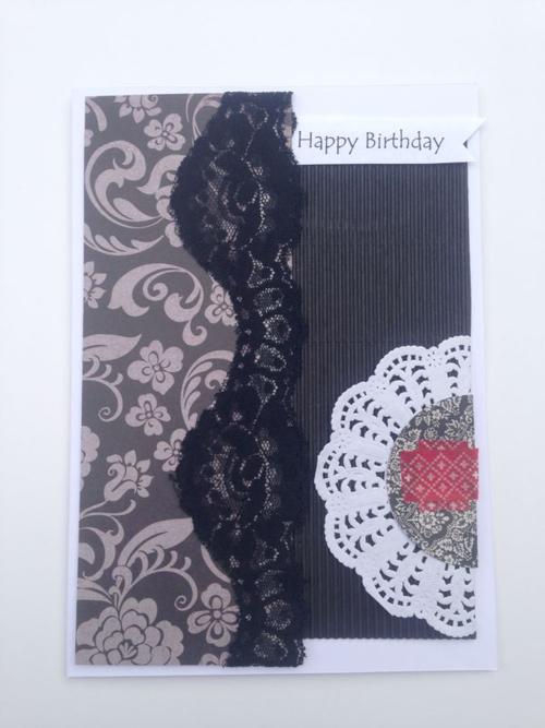 Card - birthday Dasha