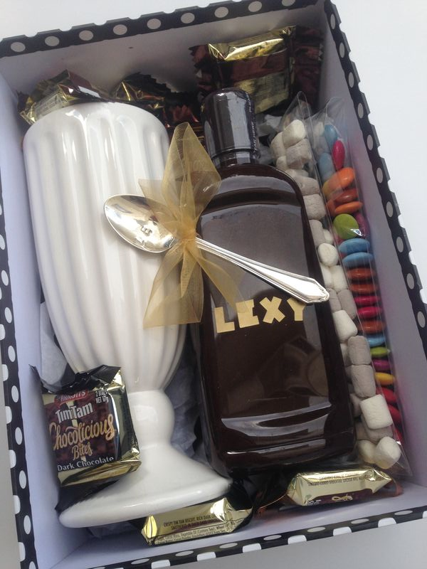 Present - ice cream box