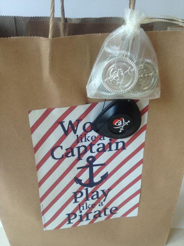 Present - pirate bag