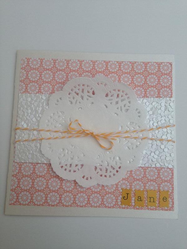 Card - Jane