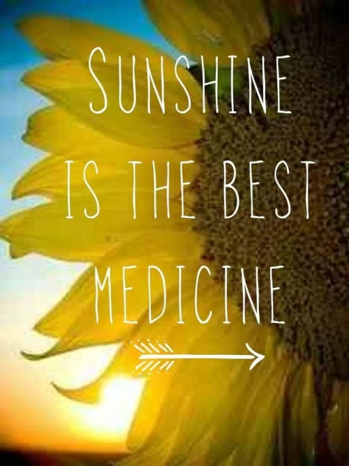 Monday Mantra - sunshine