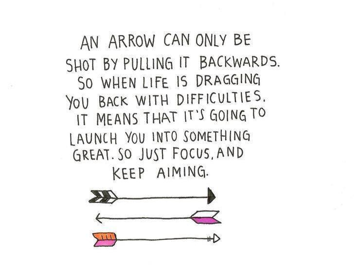 Monday Mantra arrow