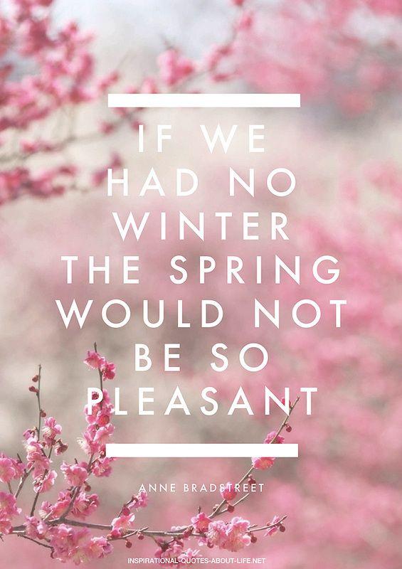Monday Mantra - spring