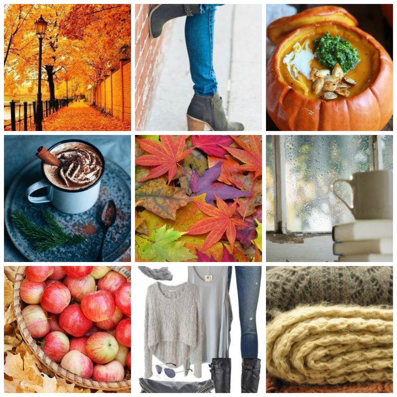 Autumn collage